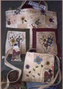 Bare Roots Easy Sewing Pattern Flowers & Hearts Totes