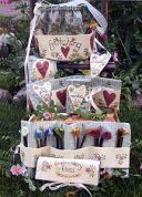 Bare Roots Easy Sewing Pattern Basket & Accessories