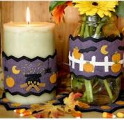 Bare Roots Easy Sewing Pattern Halloween Candle Wraps & Mini Mats