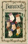Bare Roots Easy Sewing Pattern Little Christmas Stockings