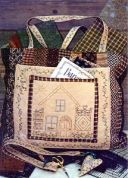 Bare Roots Easy Sewing Pattern Sewing Tote & Chatelaine