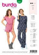 Burda Sewing Pattern 6261