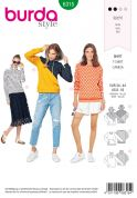 Burda Sewing Pattern 6315