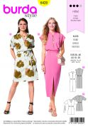 Burda Ladies Sewing Pattern 6420 Sleeveless Dresses