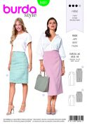 Burda Ladies Sewing Pattern 6431 Pencil Skirts