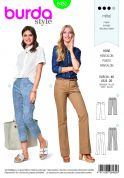 Burda Ladies Sewing Pattern 6432 Dress Trousers