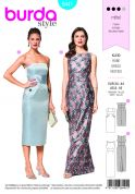 Burda Ladies Sewing Pattern 6441 Special Occasion Gown Dresses