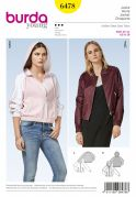 Burda Ladies Sewing Pattern 6478 Sporty & Blouson Jackets