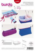 Burda Crafts Sewing Pattern 6493 Storage Accessories