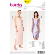 Burda Ladies Sewing Pattern 6523 Dresses