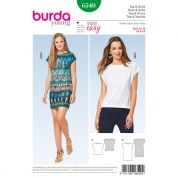 Burda Ladies Easy Sewing Pattern 6540 Top & Dress