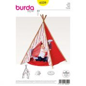 Burda Childrens Easy Sewing Pattern 6559 Tipi Play Tent