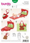 Burda Baby Easy Sewing Pattern 6623 Changing Mat & Accessories