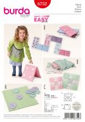 Burda Crafts Easy Sewing Pattern 6752 Soft Nursery Toys & Games
