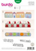 Burda Homeware Easy Sewing Pattern 6882 Novelty Door Stoppers