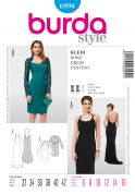 Burda Ladies Sewing Pattern 6994 Special Occasion Evening Dresses