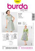 Burda Ladies Sewing Pattern 7084 Dirndl Dresses & Apron