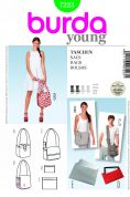 Burda Easy Accessories Sewing Pattern 7223 Bags, Laptop & E-Book Cases