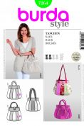 Burda Easy Accessories Sewing Pattern 7264 Patchwork Hand Bags