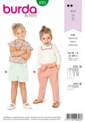 Burda Sewing Pattern 9323