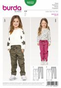 Burda Girls Easy Sewing Pattern 9352 Super Comfy Trousers