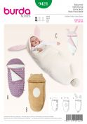 Burda Baby Easy Sewing Pattern 9421 Sleeping Bags