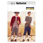 Butterick Mens Sewing Pattern 3072 Historical Costumes