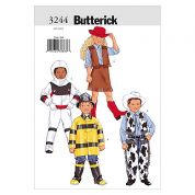 Butterick Childrens Easy Sewing Pattern 3244 Fancy Dress Costumes