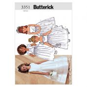 Butterick Childrens Easy Sewing Pattern 3351 Dresses & Bolero