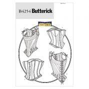 Butterick Ladies Sewing Pattern 4254 Historical Costume Stays & Corsets