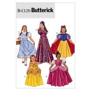 Butterick Childrens Sewing Pattern 4320 Storybook Fancy Dress Costumes