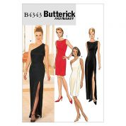 Butterick Ladies Easy Sewing Pattern 4343 Evening Dresses