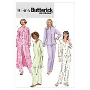 Butterick Ladies Easy Sewing Pattern 4406 Tops, Tunics & Trouser Pants