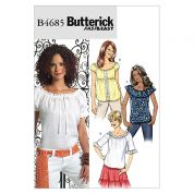 Butterick Ladies Easy Sewing Pattern 4685 Summer Tops