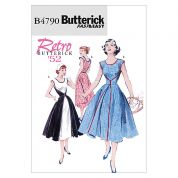 Butterick Ladies Easy Sewing Pattern 4790 Walkaway Vintage Style Wrap Dress