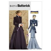 Butterick Ladies Sewing Pattern 4954 Historical Early 20th Century Costume