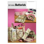Butterick Crafts Easy Sewing Pattern 5006 Sewing & Knitting Tote & Accessories