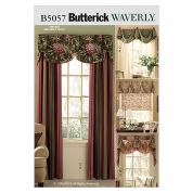 Butterick Homeware Sewing Pattern 5057 Window Treatments