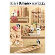 Butterick Homeware Easy Sewing Pattern 5368 Sewing Room Storage