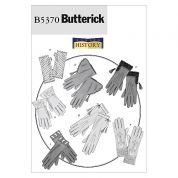 Butterick Ladies Accessories Sewing Pattern 5370 Historical Gloves