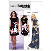 Butterick Ladies Easy Sewing Pattern 5456 Jersey Dresses