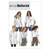 Butterick Ladies Easy Sewing Pattern 5526 Shirts & Blouses Tops