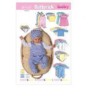 Butterick Baby Sewing Pattern 5585 Jackets, Dresses, Tops & Accessories