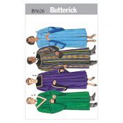 Butterick Ladies & Mens Sewing Pattern 5626 Robe & Collar