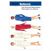 Butterick Ladies Sewing Pattern 5627 Fitting Shell & Dress