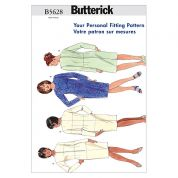 Butterick Ladies Plus Sizes Sewing Pattern 5628 Fitting Shell & Dress