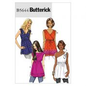 Butterick Ladies Easy Sewing Pattern 5644 Summer Tops