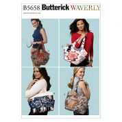Butterick Accessories Sewing Pattern 5658 Fashion Bags in 4 Styles