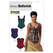 Butterick Ladies Sewing Pattern 5662 Historical Corsets