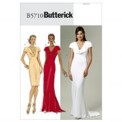 Butterick Ladies Sewing Pattern 5710 Special Occasion Dresses with Train